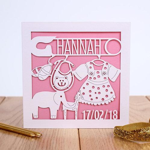 The Nursery 'Animals' Childrens Birthday Card