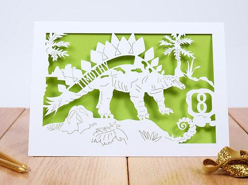 Dinosaur Children's Birthday Card