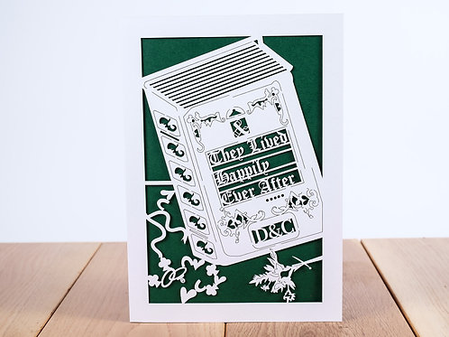 Happy Ever After Personalised Anniversary Card