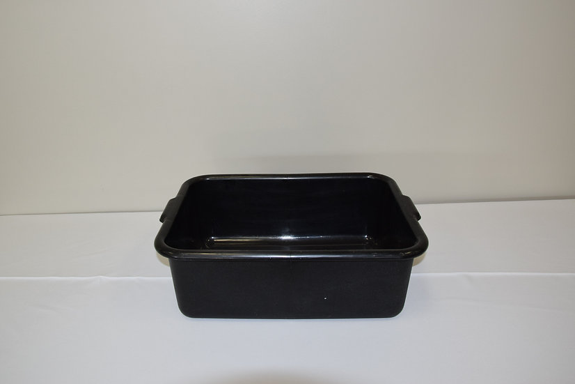 Bus Tub Black (20x15x7)