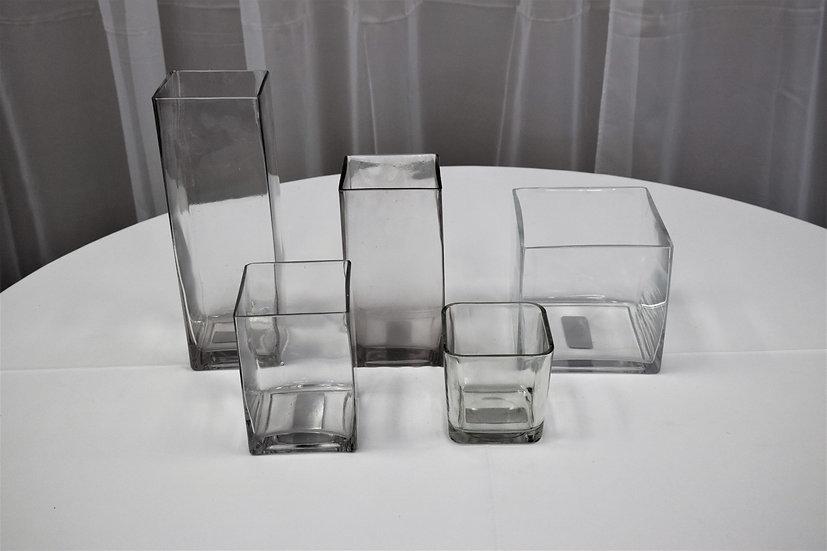"Vase Square 4""x12"""