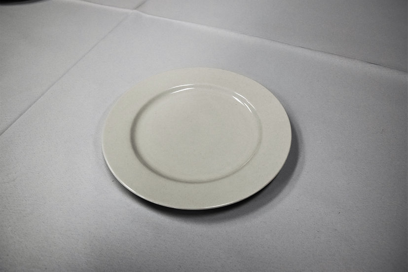 """China Plate 8"""" White"""