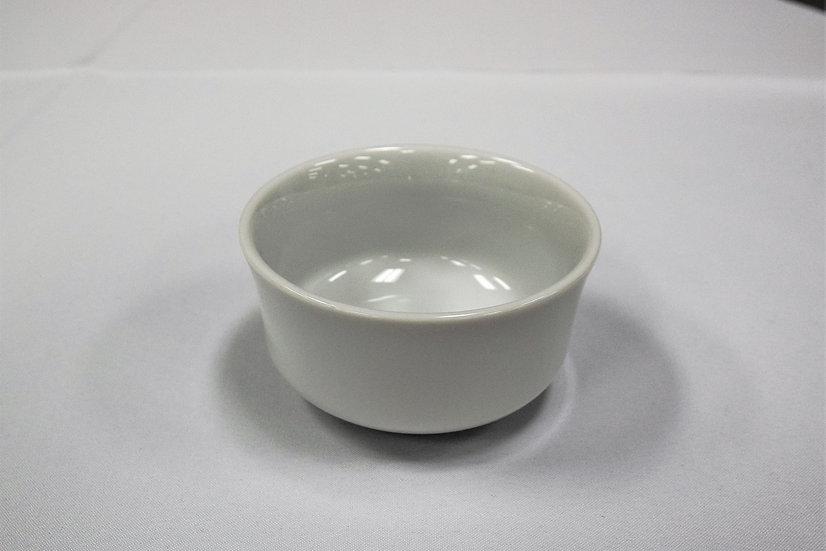 China Bouillon Bowl White