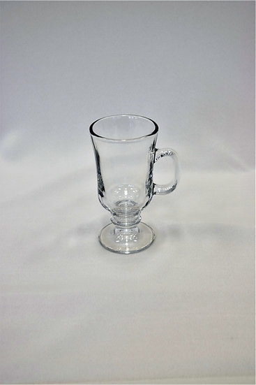 Glass Irish Creme Coffee Mug