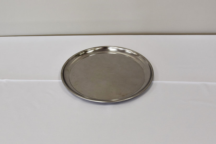 """Stainless Steel 14"""" Round Tray"""