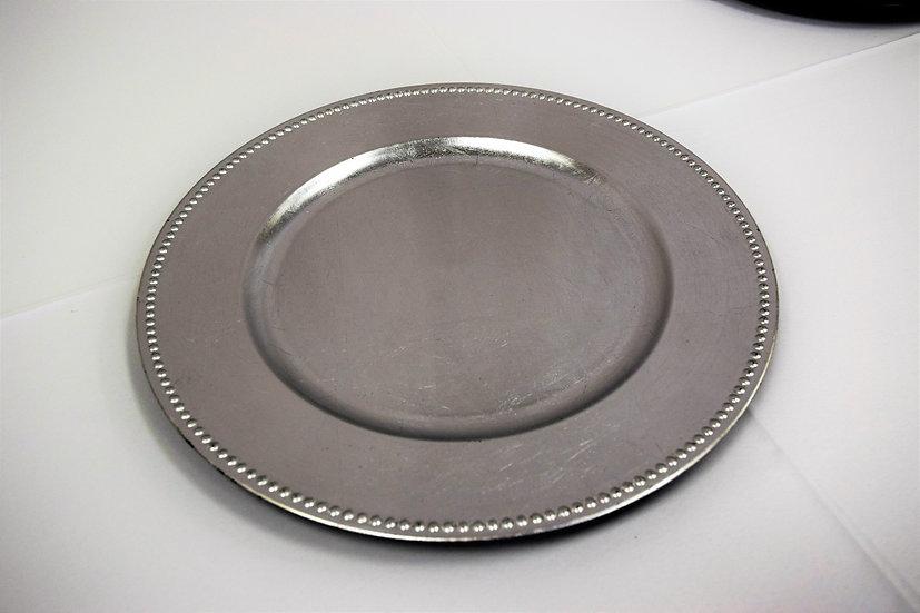 Charger Plates Silver