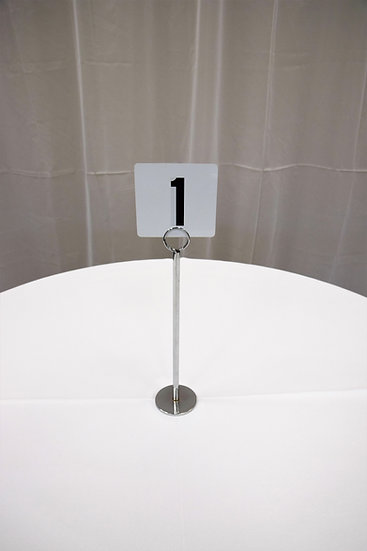 Table Number Stands W/ Numbers