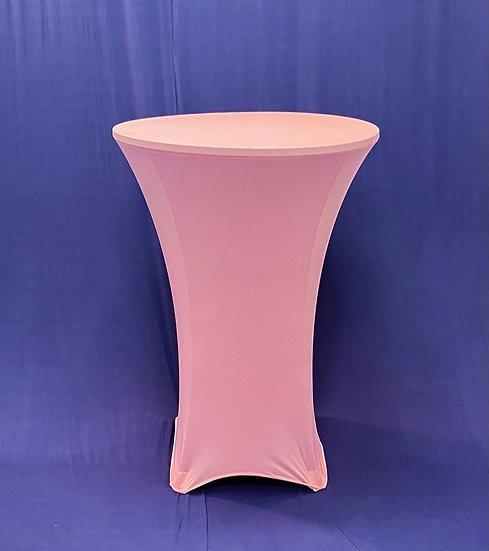 """Linen 30"""" Round Spandex Pink"""