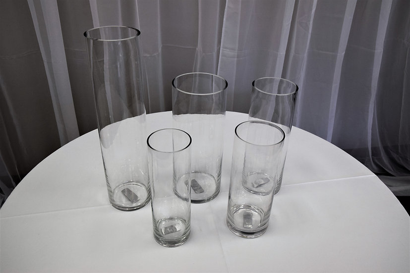 "Vase 4 5/8""x14"" Cylinder"