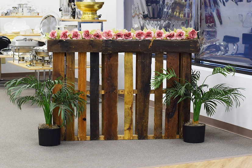 Bar Portable 4' Wooden Pallet