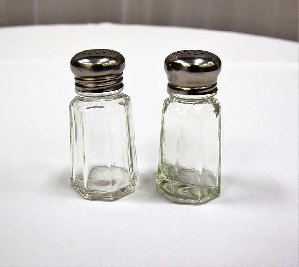 Salt & Pepper Set Glass