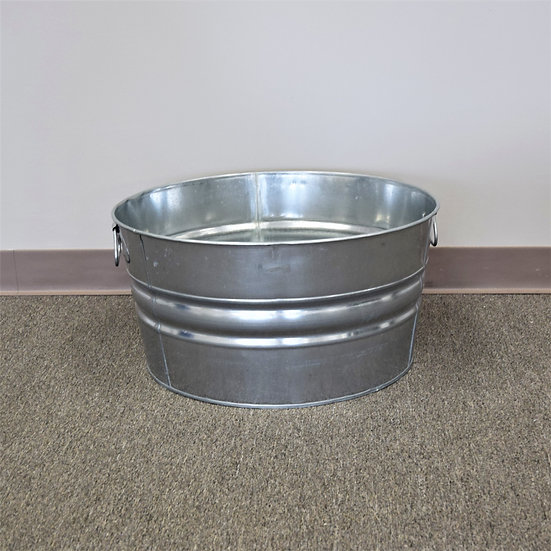 Galvanized Tub Round