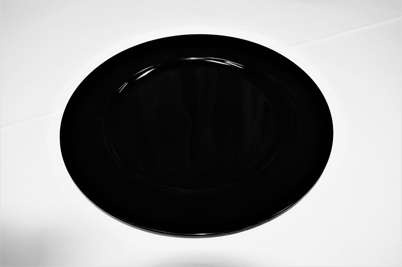 Charger Plates Black