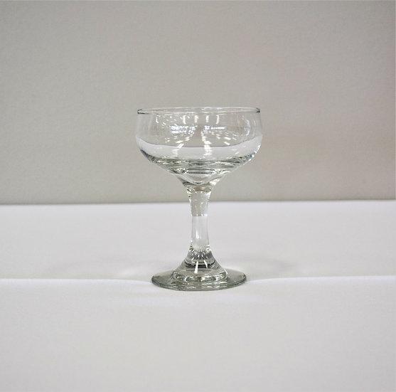 Glass Champagne Plain Stem 4