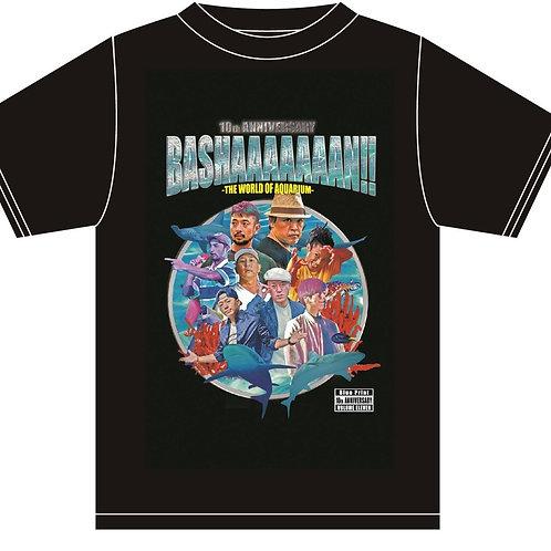 「BASHAAAAAAAN‼」Tシャツ