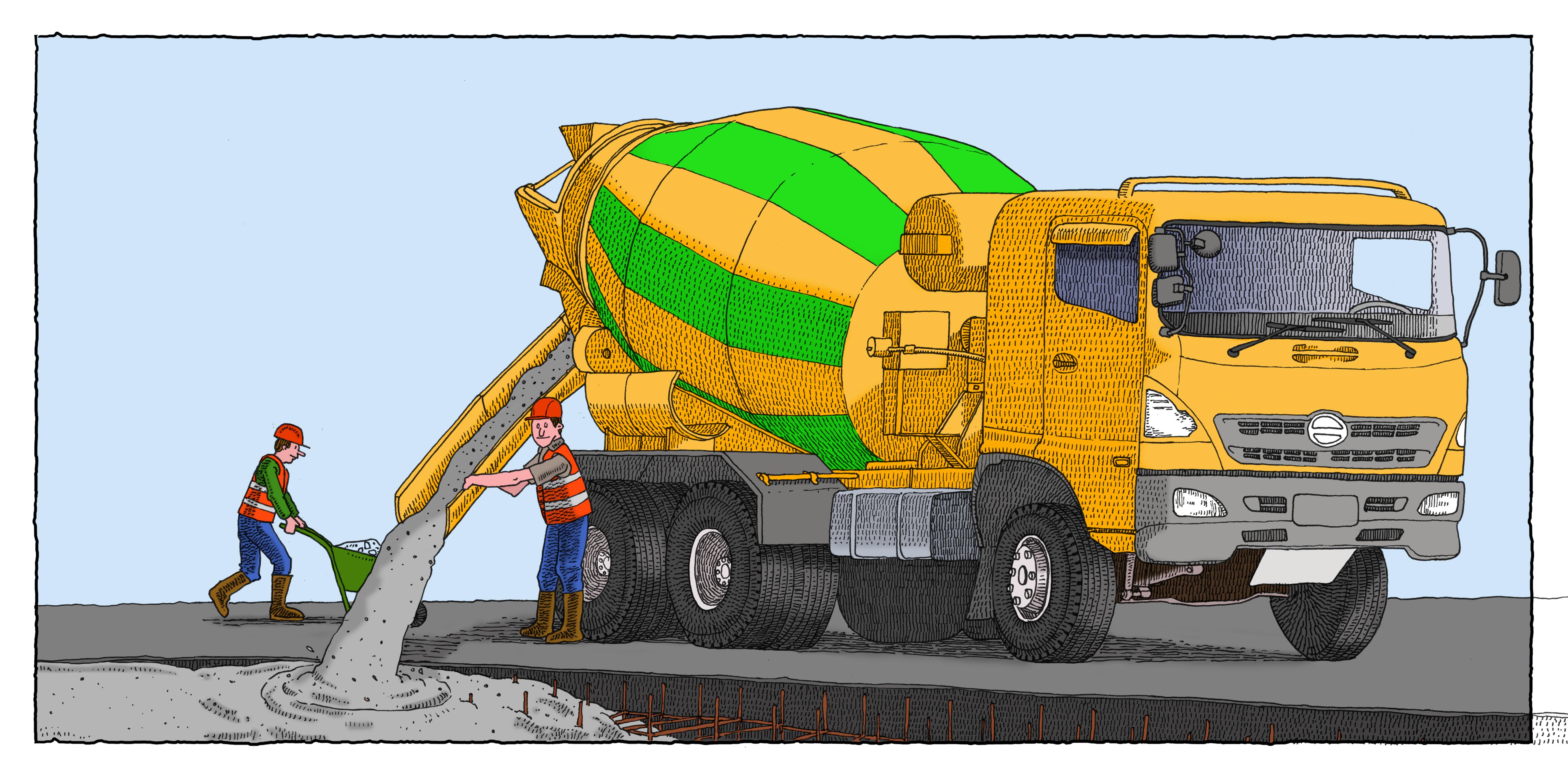 Cement-Truck