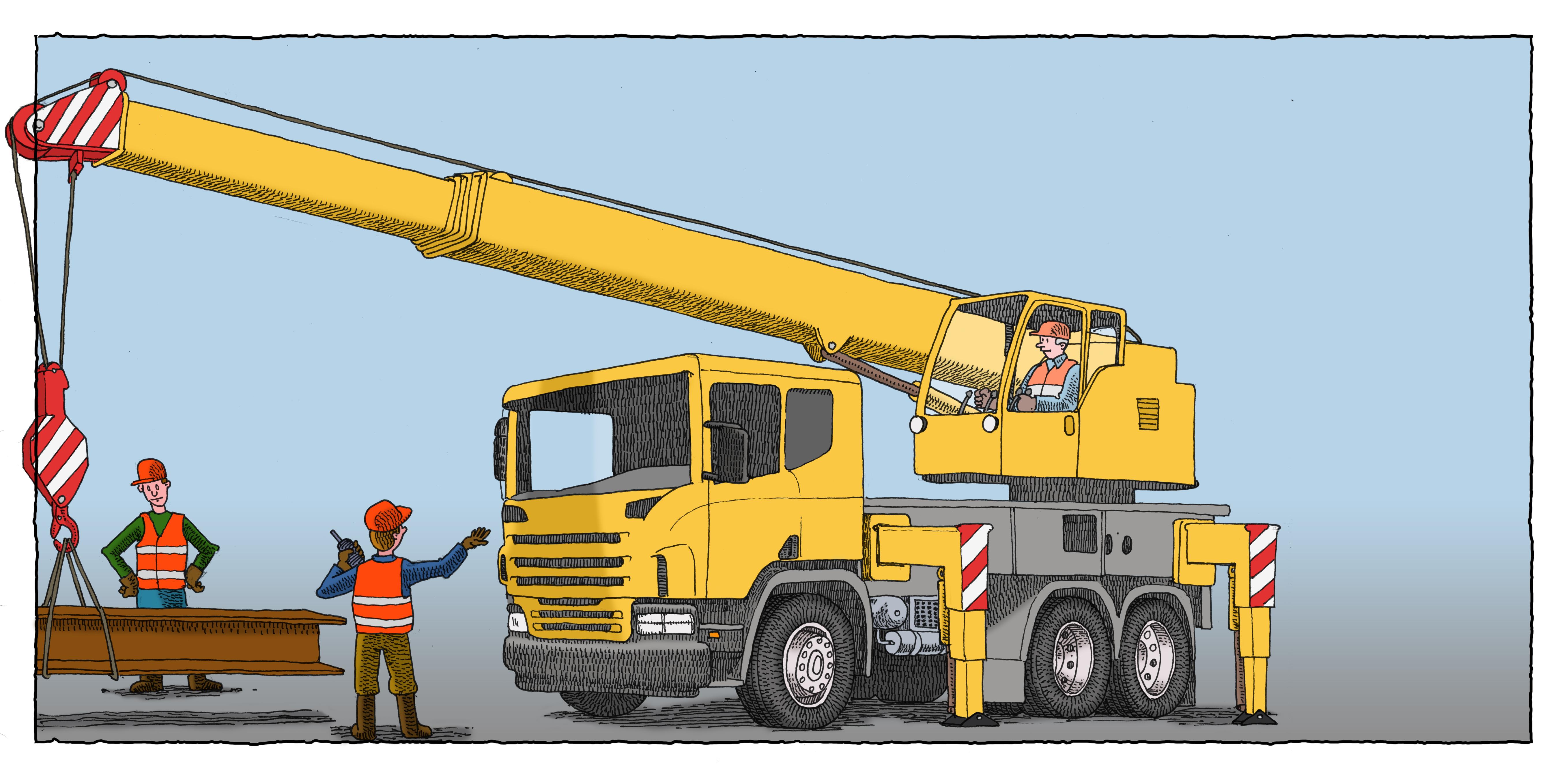 Crane-Truck