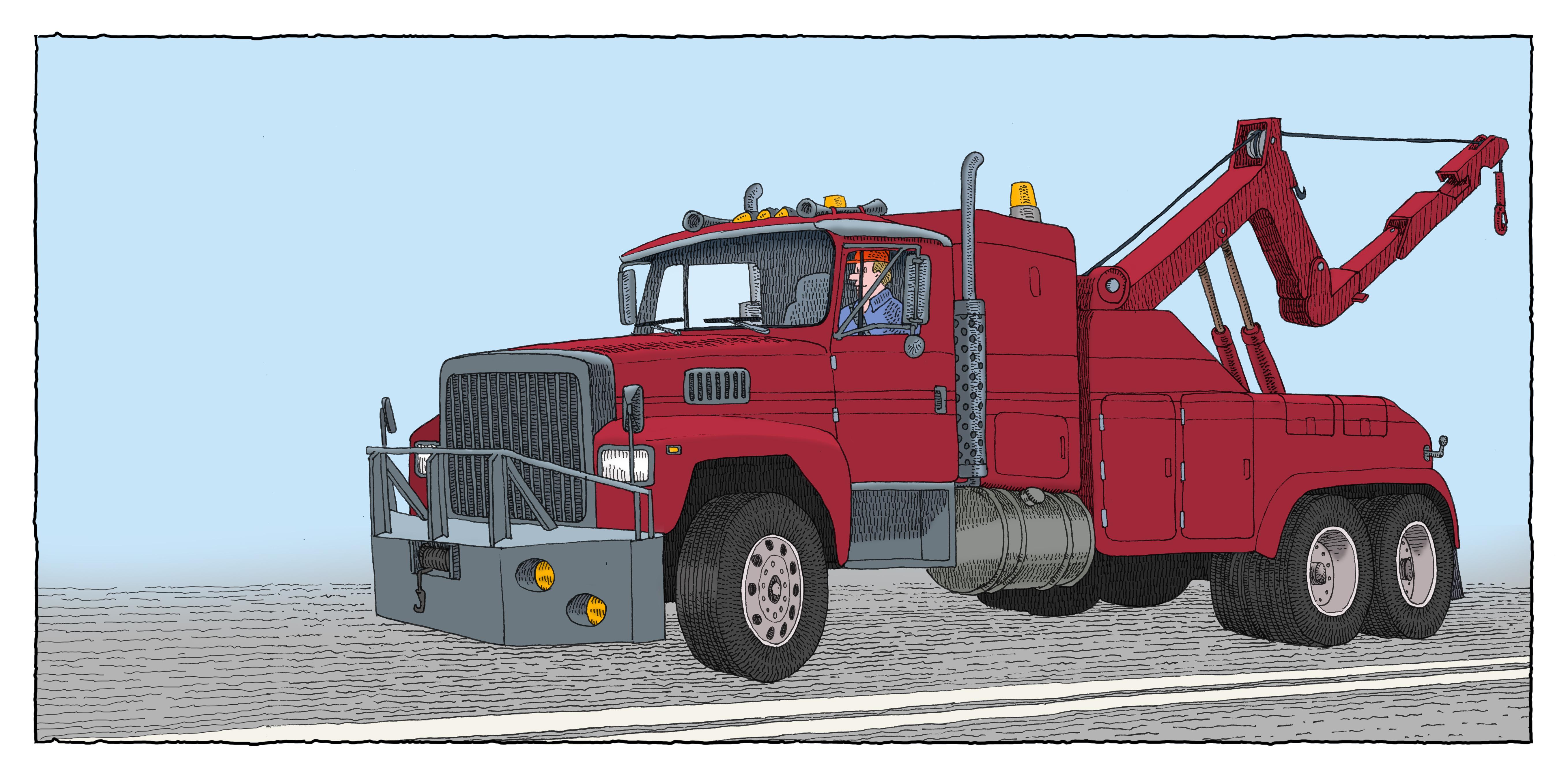 Wrecker-Truck