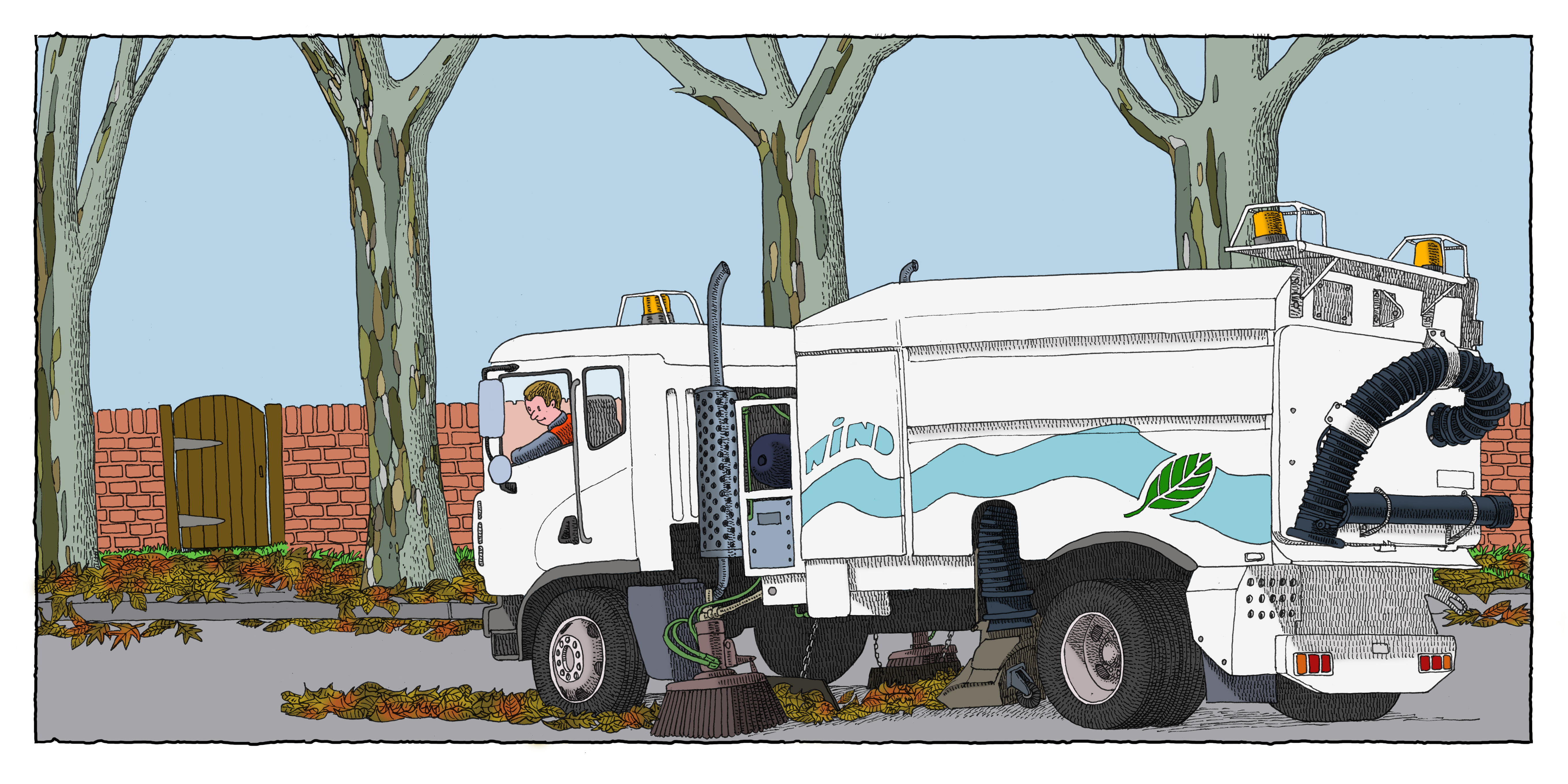 Street-Sweeper-Truck