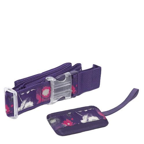 Ensemble pour bagages Lug Water purples