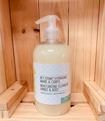 Nettoyant mains corps fleur d'amandier 500 ml