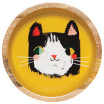 Moyen bol en bois Danica collection Meow Meow