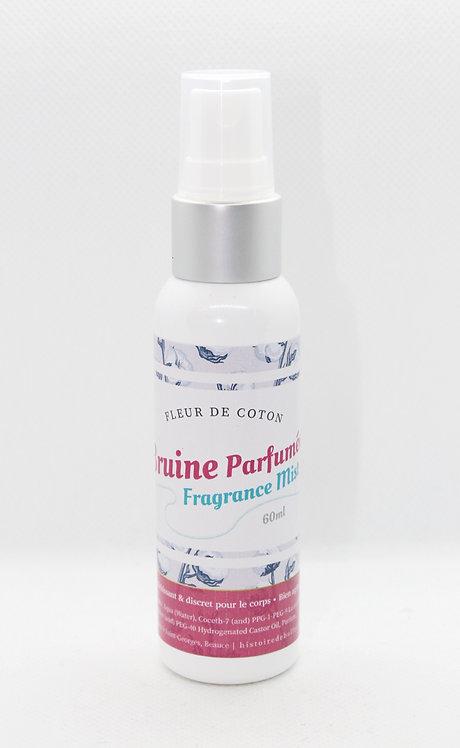 Bruine parfumée Fleur de Coton 60 ml