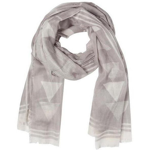 Foulard Danica gris pâle triangle