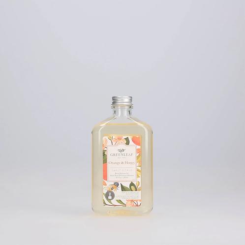 huile de diffuseur a roseaux Orange & Honey