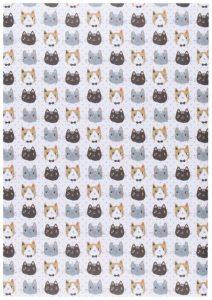 Rouleau de papier d'emballage Danica collection Meow meow