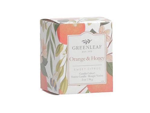 Bougie votive Orange & Honey
