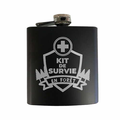 Flasque Kit de survie en forêt