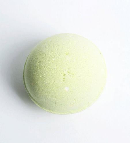 Bombe de bain Thé Vert et Poire Blanche
