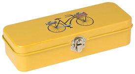 Boite à crayon en métal Danica Studio collection Bicicletta