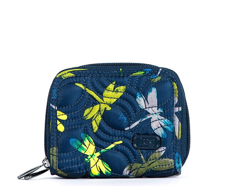 Portefeuille compact Lug Split - Dragonfly navy