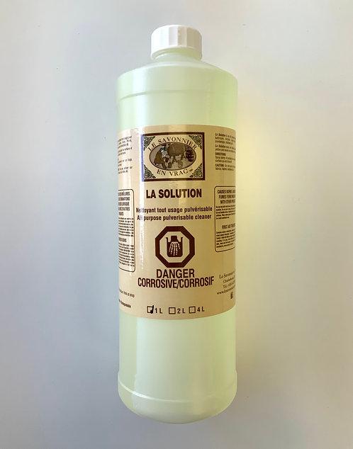 La solution 1 litre