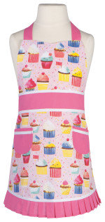 tablier d'enfant  cup cake now designs