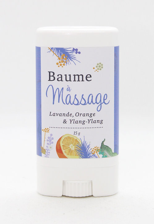 Baume à massage Lavande Orange Ylang ylang