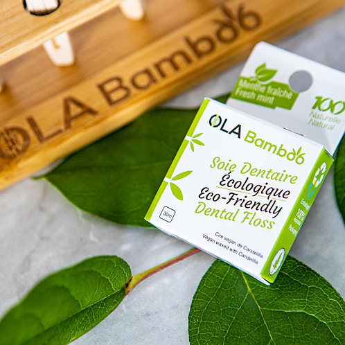 Soie Dentaire écologique OLA Bambou
