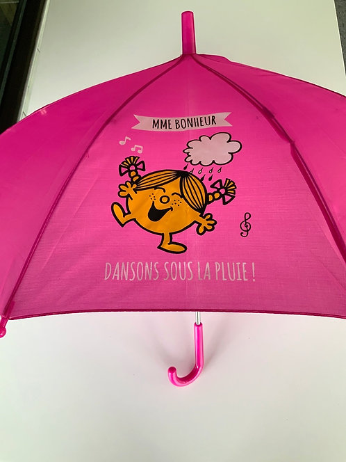 Parapluie madame bonheur