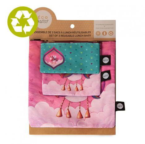 Emballages et sacs réutilisables