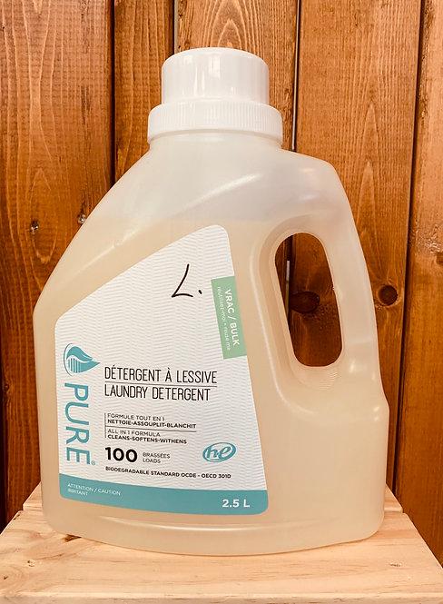 Detergent lessive fleur amandier 2.5 litres
