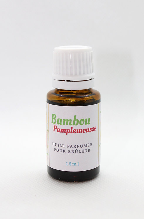 Parfum Aroma-Bulles Bamboo pamplemousse