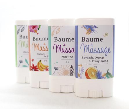 Baumes à massage