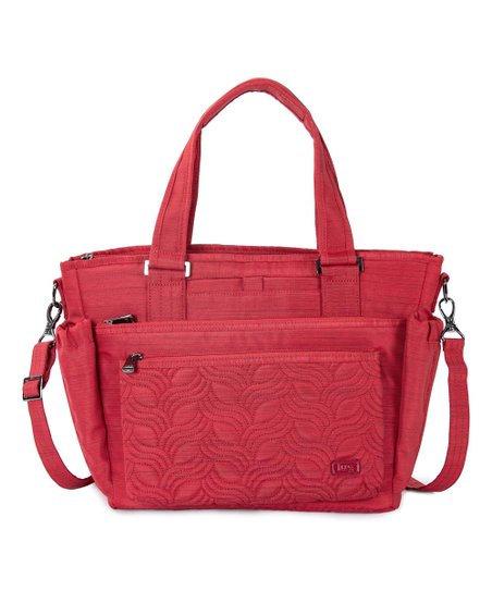 Grande sacoche Lug rouge