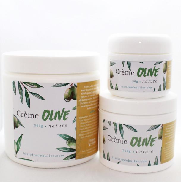 Crème à l'huile d'olive