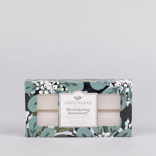 Barre de cire parfumée Shimmering Snowberry