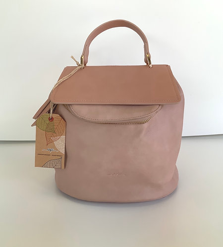 Sacoche Espe style sac à dos rose pâle