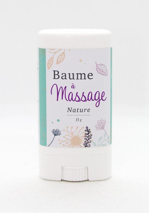 Baume à massage Nature