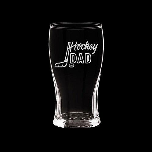 Verre à bière Hockey dad